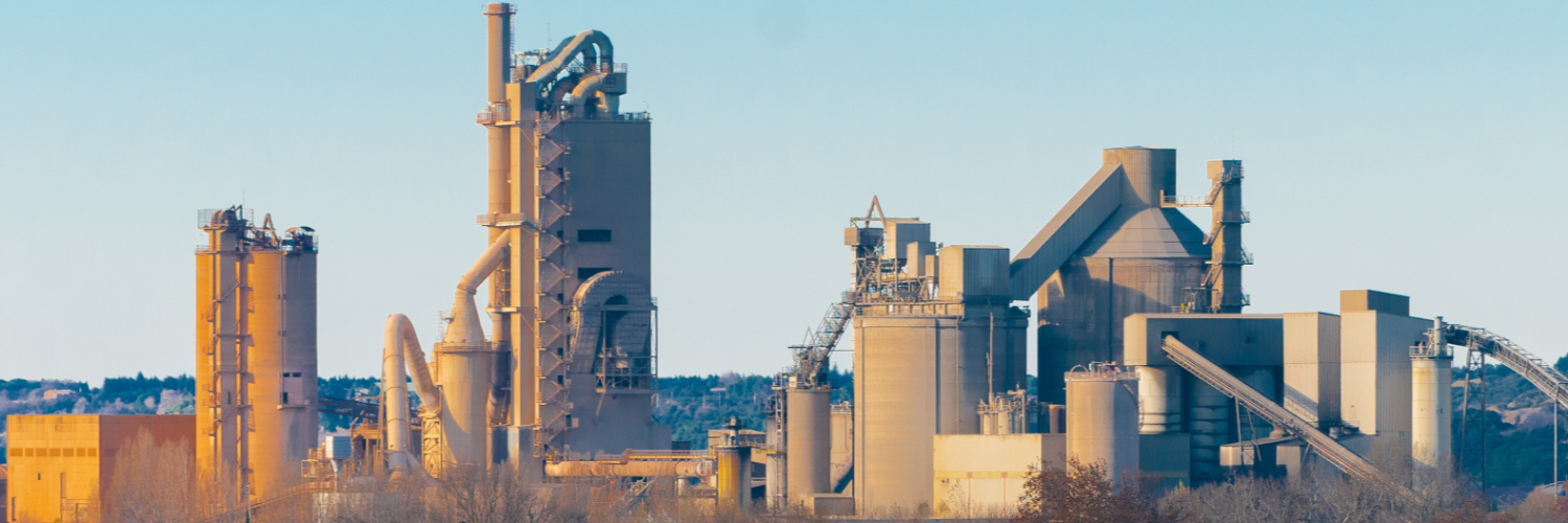 Cement plant and construction industry